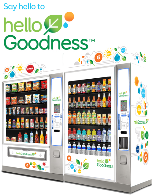 Hello Goodness Healthy Vending