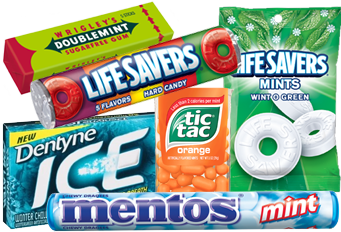 Gum and Mint Vending Options