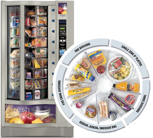 Fresh Food Combo Vending Machine
