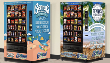 Branded Vending Machines Florida