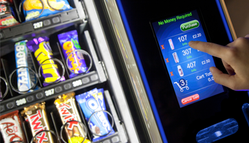 Touchscreen Snack Vending Machines