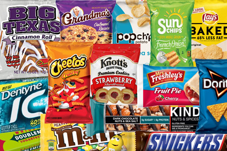 Florida Snack & Candy Vending Options