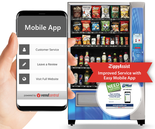 Mobile Request Platform Vending App