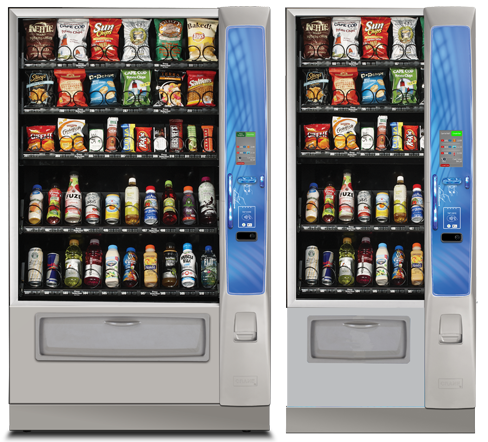 Florida Snack Candy and Drinks Vending Machine