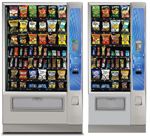 Florida Snack and Candy Vending Machines